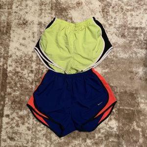Nike shorts, 2 pair